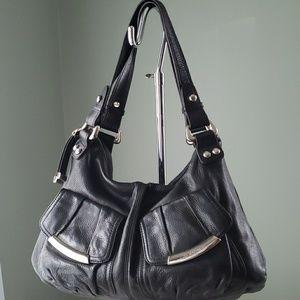 B Makowsky Leather Purse